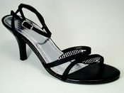 Enzo Black Evening Shoes