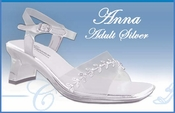 * Anna Adult Sized Formal Evening Shoes