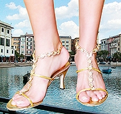 * Venice Glamourous Evening Shoe