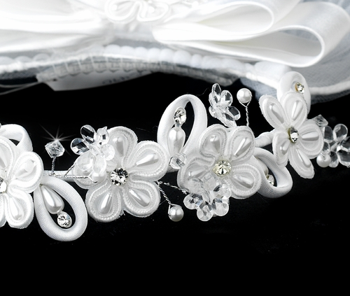 HP C 470 Headband w/ Veil Headpiece