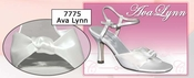 Ava Lynn Dyeable Satin Bridal Shoe