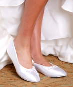 Lovely Adult Dyeable Bridal Wedding Shoes 5032