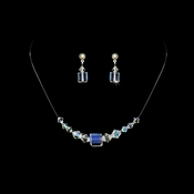 * AB Illusion Necklace & Earring Set NE 233