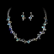 Swarovski Crystal Necklace & Earring Set NE 8257