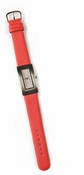 Silver-Red Rhinestone Faced Watch WATCH9-RD
