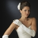 Bridal Ring Finger Satin Gloves GL9055-12A