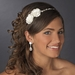 * Charming Ivory Side Accented Flower Headpiece 636