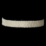Pearl & Glass Bead Sash Belt 296