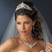 Matching Tiara & Jewelry Sets