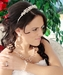 Freshwater Pearl & Crystal Bridal Necklace Earring & Tiara Set 8139