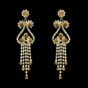 Earring 1115 Gold Topaz ***Discontinued***   **1 Left**