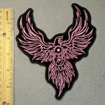 1874 L - Phoenix  V - Twin - Embroidery Patch