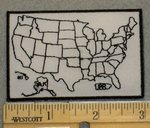 2067 W - Fill In States As You Travel- Embroidery Patch