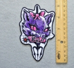 HELL CAT - EMBROIDERY PATCH