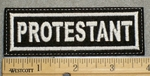 1510 L - Protestant - Embroidery Patch