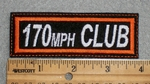 170 MPH Club - Embroidery Patch
