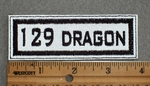 129 Dragon - Embroidery Patch