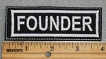 Founder - Embroidery Patch