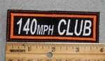 140 MPH Club - Embroidery Patch