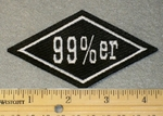 99 %er Diamond - Embroidery Patch