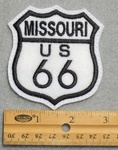 Route 66 Missouri Sign Embroidered Patch