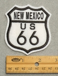 New Mexico Route 66 Sign Embroidered Patch