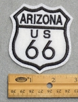 Arizona Route 66 Sign Embroidered Patch