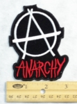 ANARCHY A - EMBROIDERY PATCH
