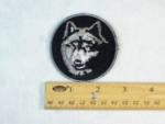 216 N - WOLF - EMBROIDERY PATCH