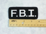 590  - FBI PATCH - Embroidery Patch
