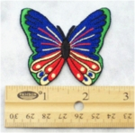 BUTTERFLY - EMBROIDERY PATCH