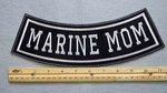 MARINE MOM BOTTOM ROCKER - EMBROIDERY PATCH - FREE SHIPPING!