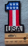 USA #1 Embroidered Patch