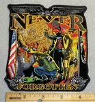 Never Forgotten - Embroidery Patch