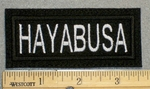 HAYABUSA - Embroidery Patch