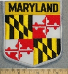 Maryland State Shield - Embroidery Patch