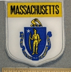 Massachusetts State Shield - Embroidery Patch