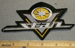 Yamaha V-Star Logo - Yellow Small Version - Embroidery Patch