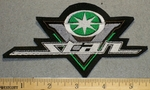 Yamaha V-Star Logo - Green - Embroidery Patch
