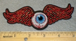 Eyeball With Wings - Embroidery Patch