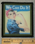 1476 L - We Can Do It - Printed Patch