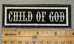 1400 L - Child Of God - Embroidery Patch