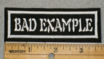 1912 L- Bad Example - EMbroidery Patch