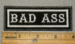 1910 L - Bad Ass - Embroidery Patch