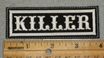 1991 L - Killer - Embroidery Patch