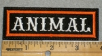 1993 L - Animal - Orange Border - Embroidery Patch