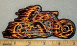 2009 G - Flaming Hell Rider - Embroidery Patch