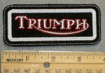 Triumph - Embroidery Patch