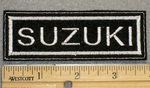 Suzuki - Embroidery Patch