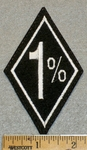 1% - Diamond Patch - Embroidery Patch